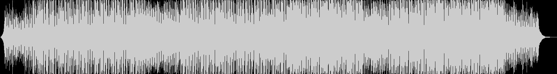EDMスタイルのヒップホップの未再生の波形