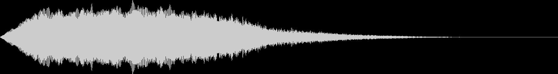 SFX ケミカルな昭和特撮風パッド 1の未再生の波形