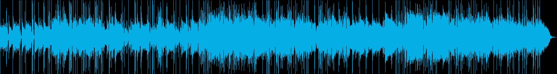 70sのUKプログレ風のポップロックの再生済みの波形