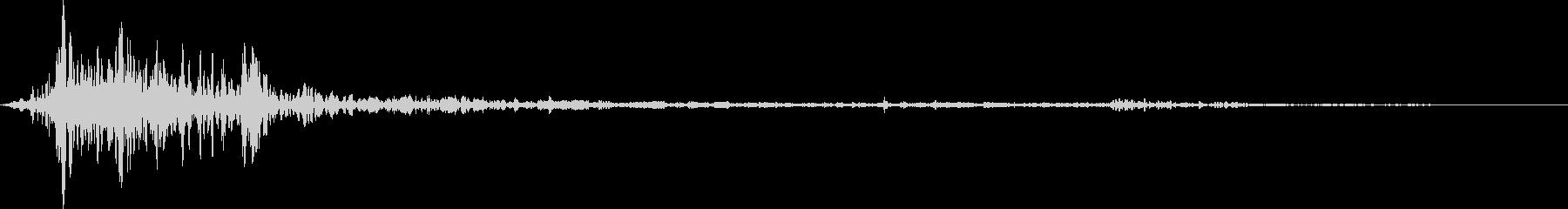 シャープアンダーウォーターインパク...の未再生の波形