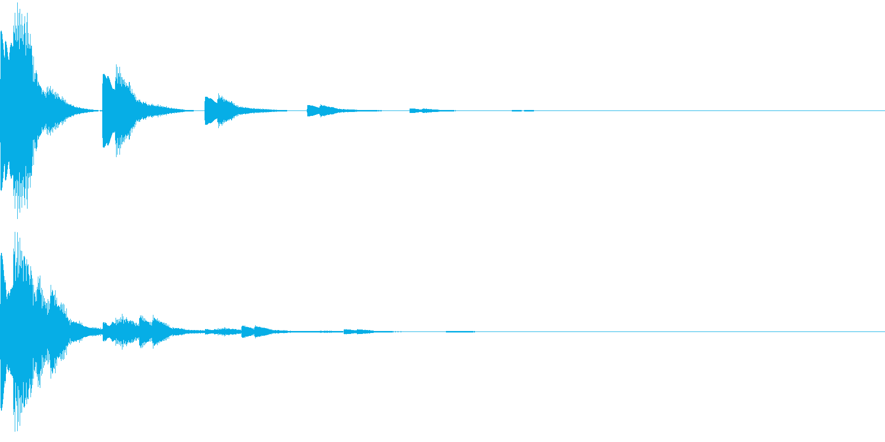 キランキランキラ…(スタート音、決定音)の再生済みの波形