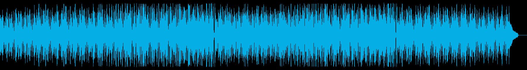 【リズム抜き】クリーンで落ち着いた説明向の再生済みの波形