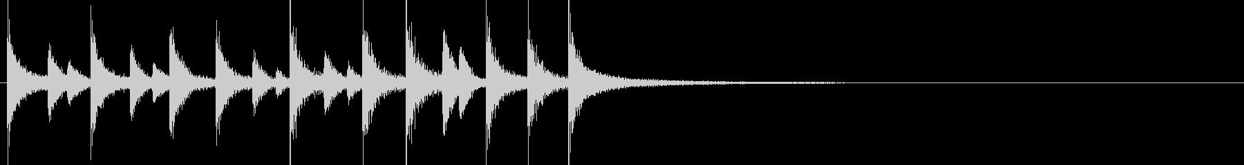 ドラム/ティンバレス フィルイン 7の未再生の波形