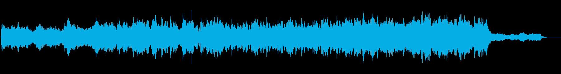 ティンパニのヒットと強力な弦のトレ...の再生済みの波形