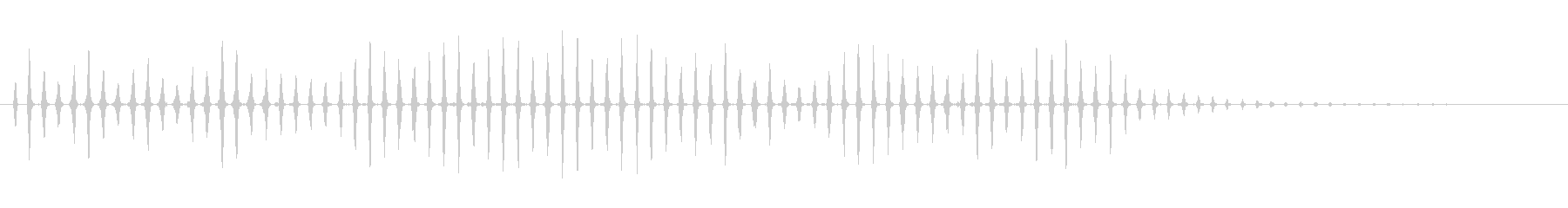 素材 遅延ゲーター02の未再生の波形