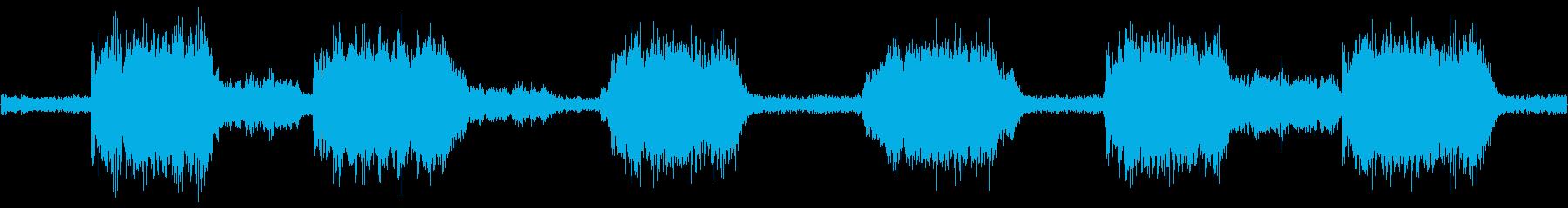 不気味な風(ループ可、ショートVer.)の再生済みの波形
