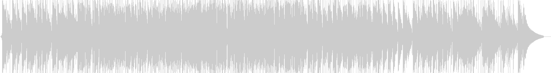 爽やかなピアノトリオ(オリジナル)の未再生の波形