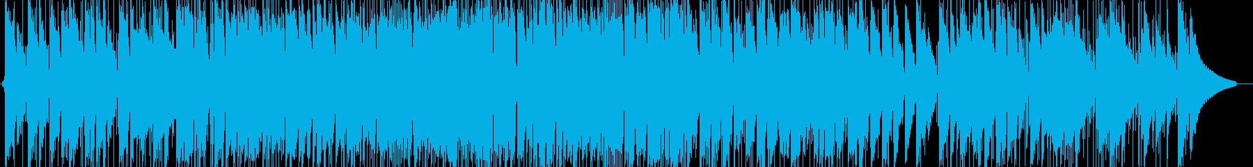 爽やかなピアノトリオ(オリジナル)の再生済みの波形