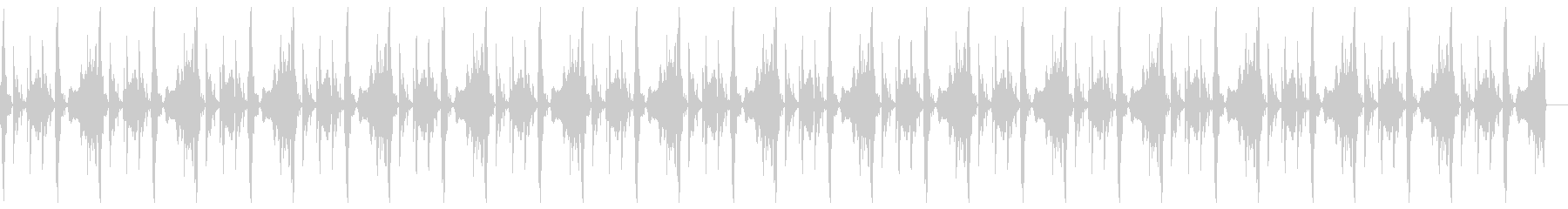 車の効果音を使ったループの未再生の波形
