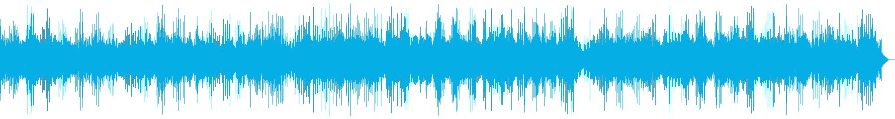 旋律の綺麗なヒーリングピアノ_効果音なしの再生済みの波形