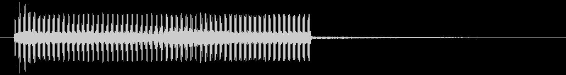 工場ブザー:ショートリング、ブザー...の未再生の波形