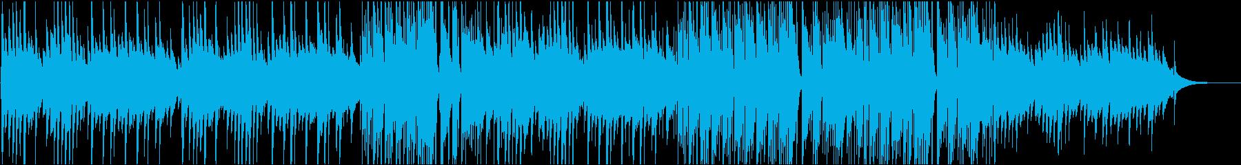 エンディング映像にピアノ ほっこり優しいの再生済みの波形