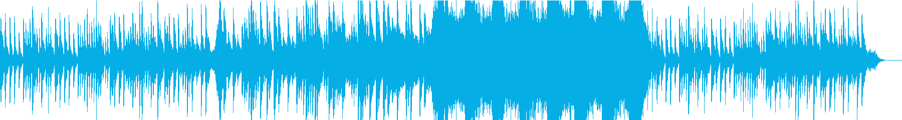 寂しい過去の回想曲の再生済みの波形
