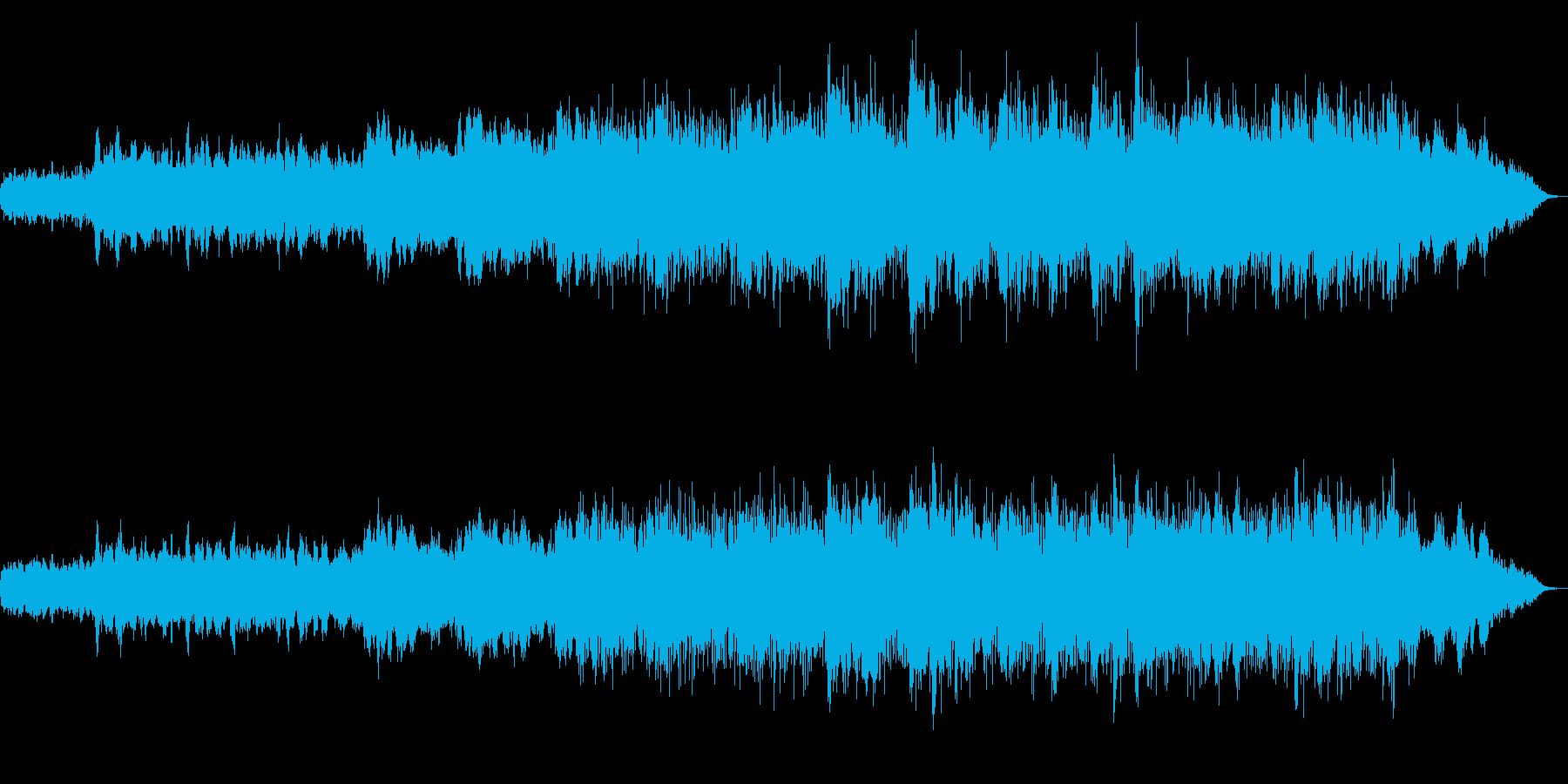 水にまつわる場所を表現したアンビエントの再生済みの波形