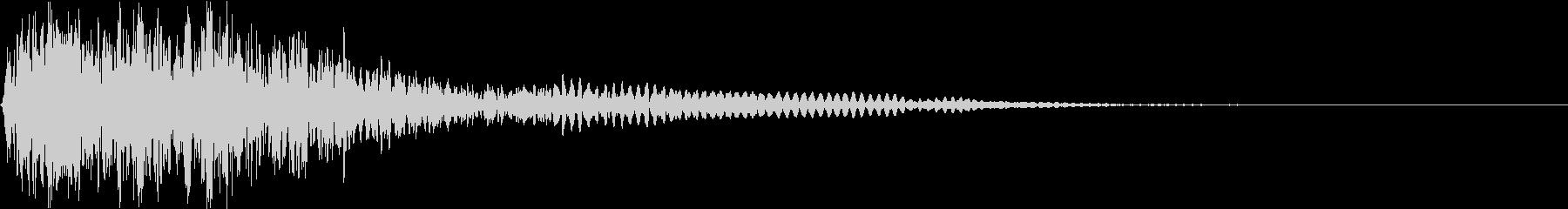 爆発 ドカーン ドーン 衝撃 機械的13の未再生の波形