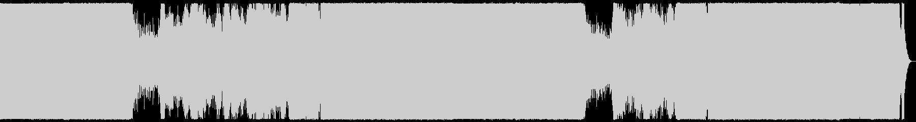 雄大で華やかなプログレッシブハウス。の未再生の波形