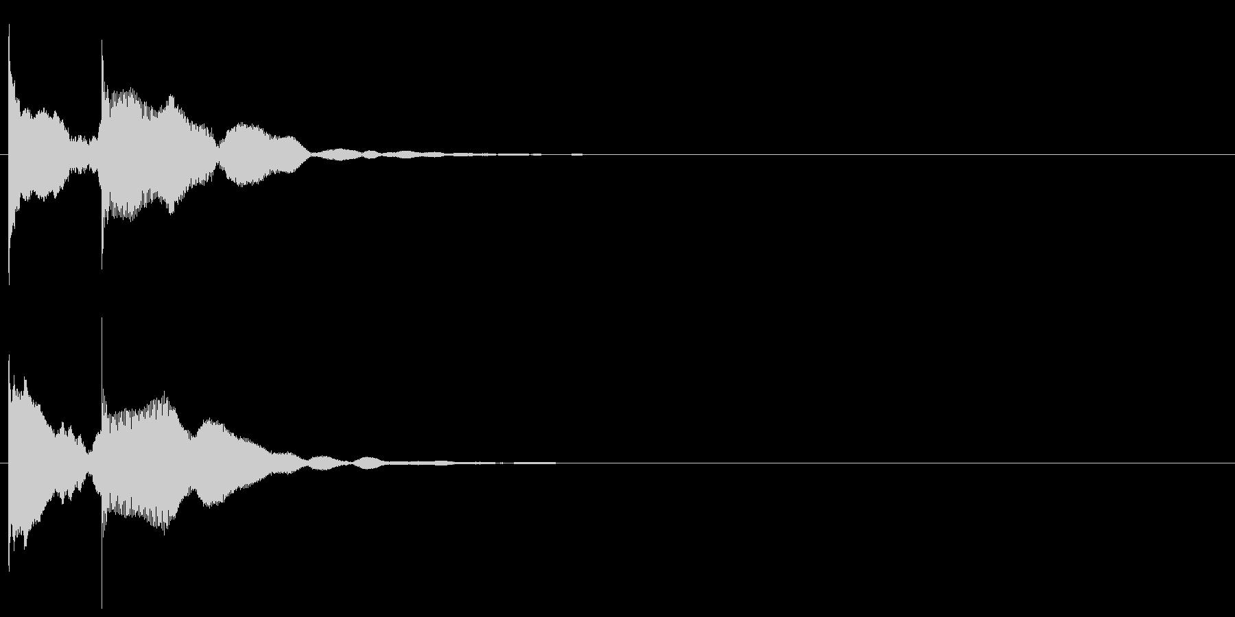 上りエレベーターチャイム-1_rev1の未再生の波形