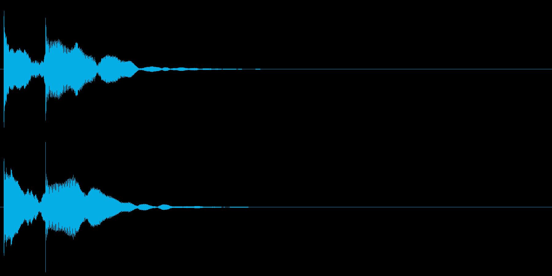 上りエレベーターチャイム-1_rev1の再生済みの波形
