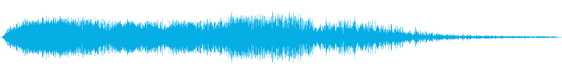 ビッグヘビーロケットフーの再生済みの波形