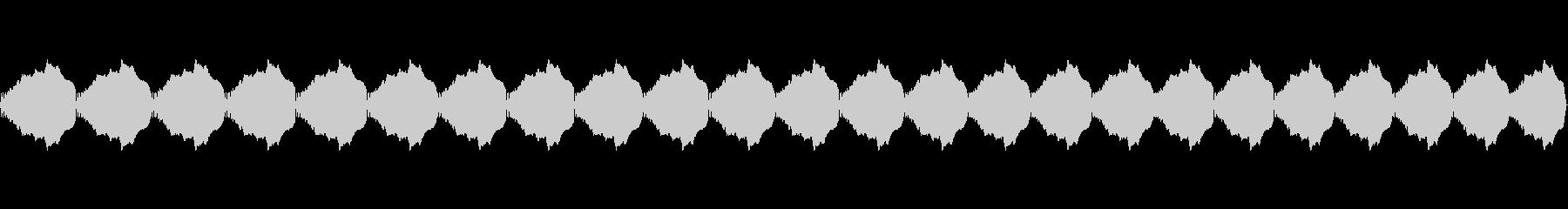 鳥のような鳴き声、ピッチアップ:繰...の未再生の波形