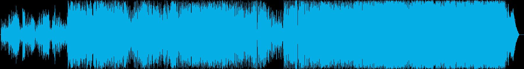 電話の再生済みの波形