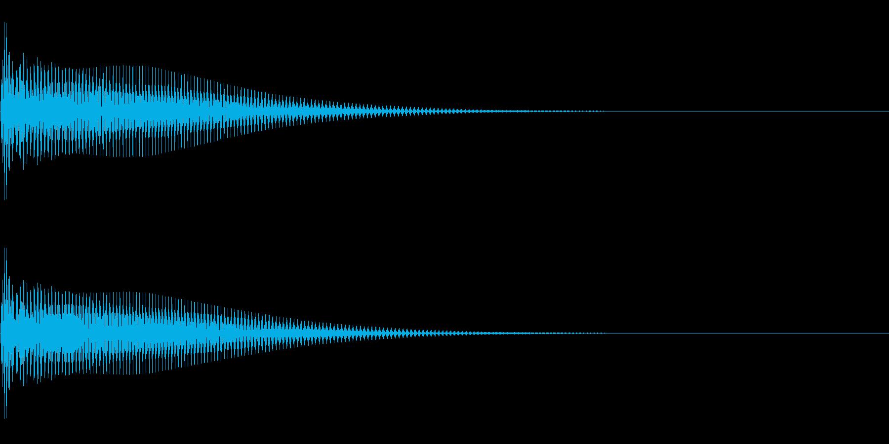 Anime 目が点になる 二頭身化 2の再生済みの波形