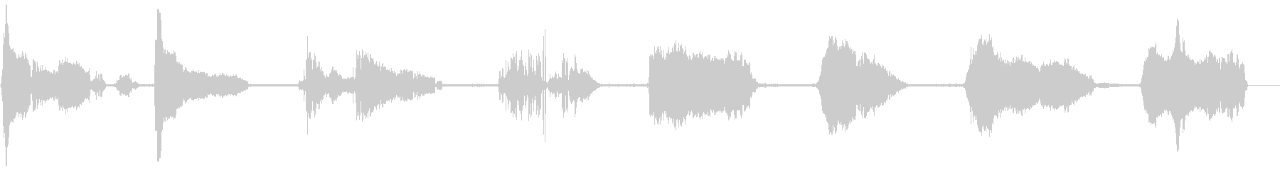 ゾンビのうめき声、シングルオス2の未再生の波形