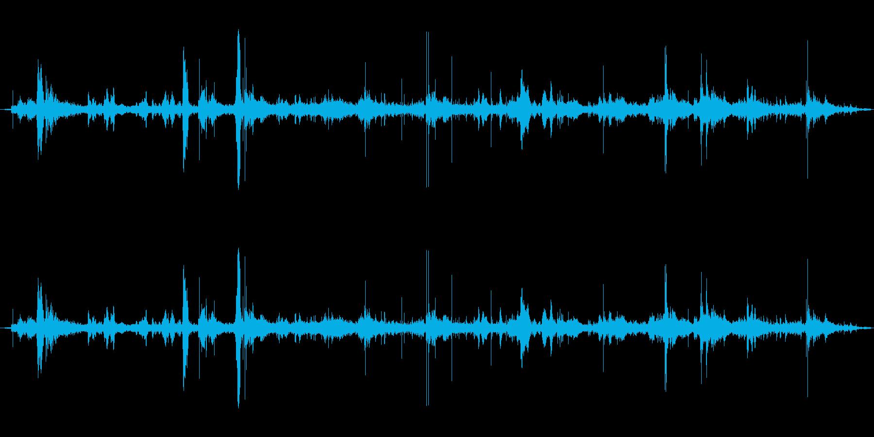 プール1の再生済みの波形