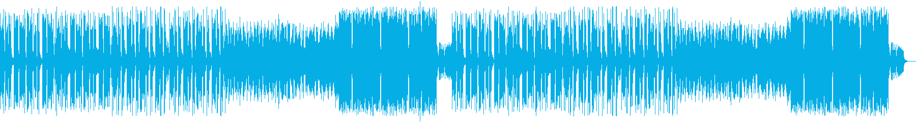 K-POP風ちょっぴりダークでクールな曲の再生済みの波形