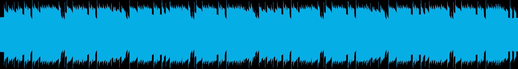 蛍の光レトロゲーム風 ループ仕様の再生済みの波形