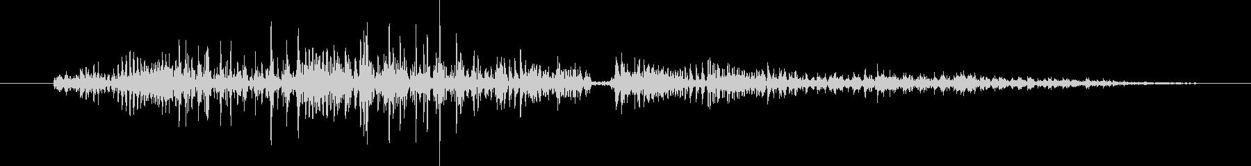 鳴き声 男性の呪い悪08の未再生の波形