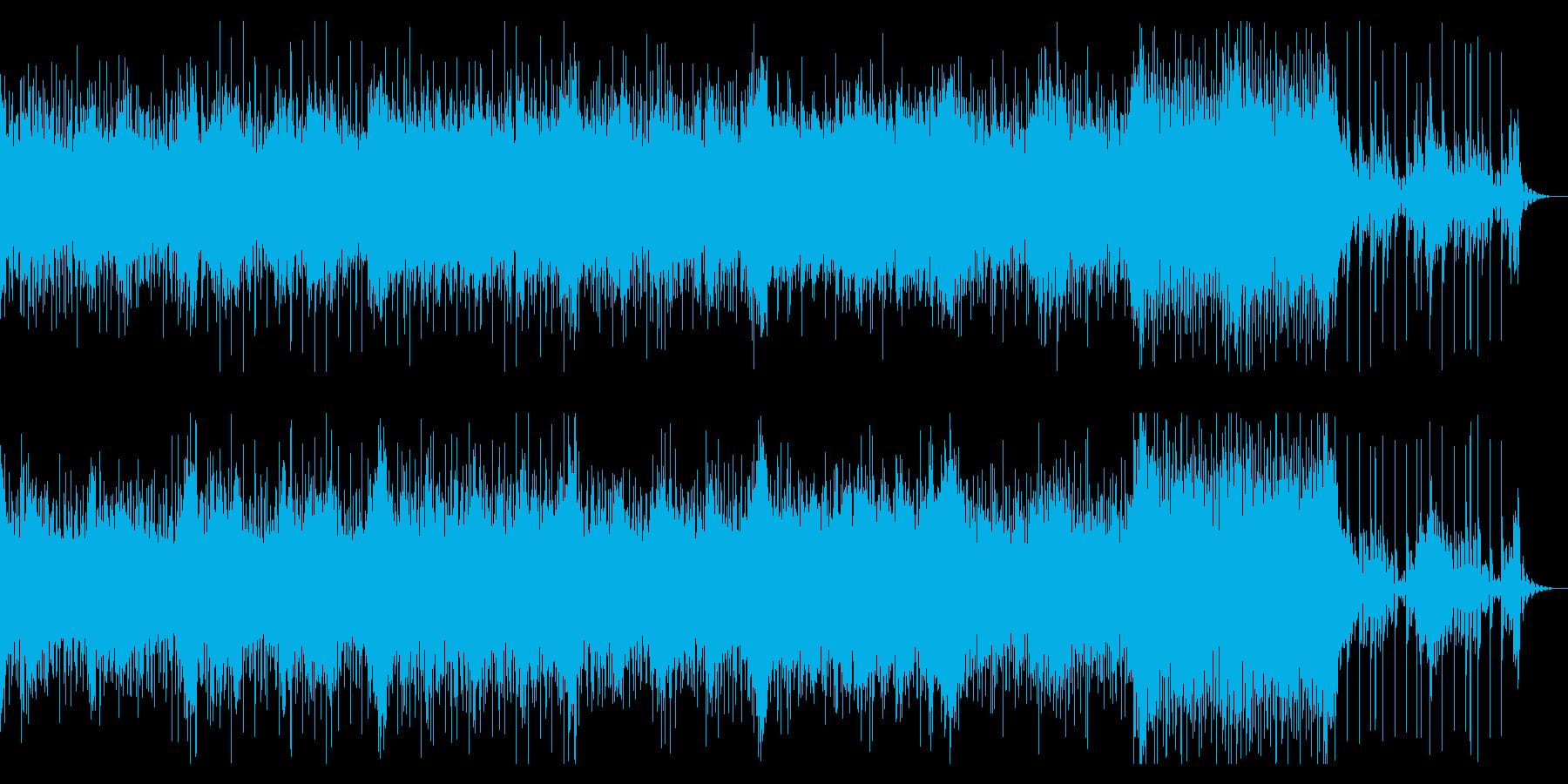 ダンサンブルなアンビエントの再生済みの波形