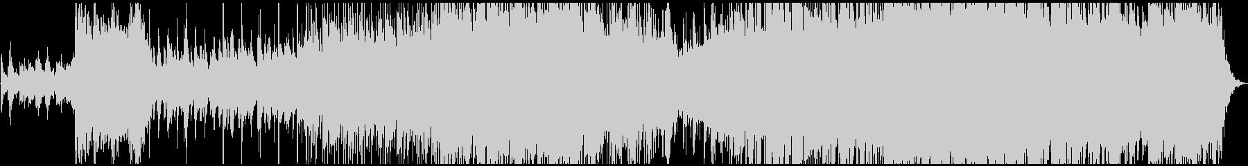 明るく透明でキラキラピアノポップの未再生の波形