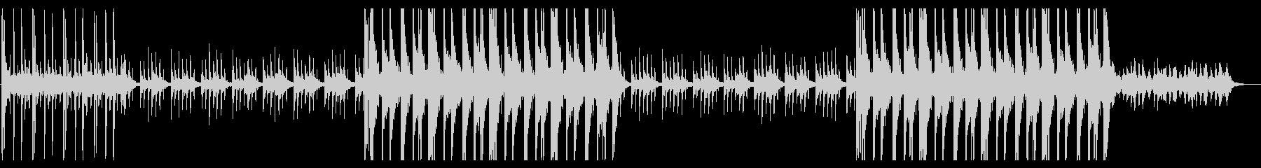 ローファイ チルアウト R&Bの未再生の波形