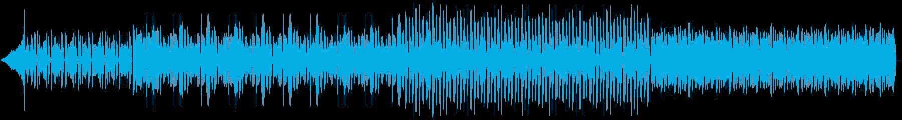 【明るくポップなハウスミュージック】の再生済みの波形