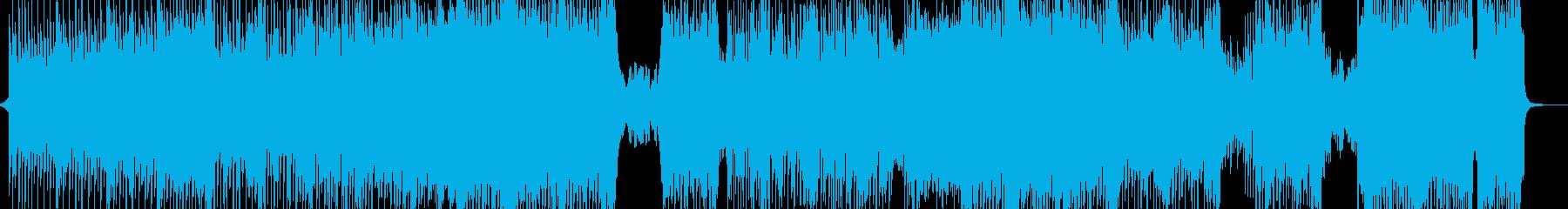 カラフル☆ハッピーなテクノポップ Lの再生済みの波形