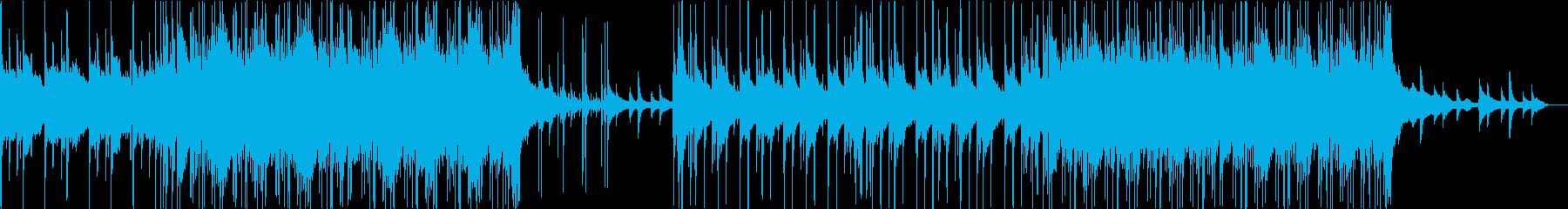 前向きで少し切ない感じ。ピアノストリン…の再生済みの波形