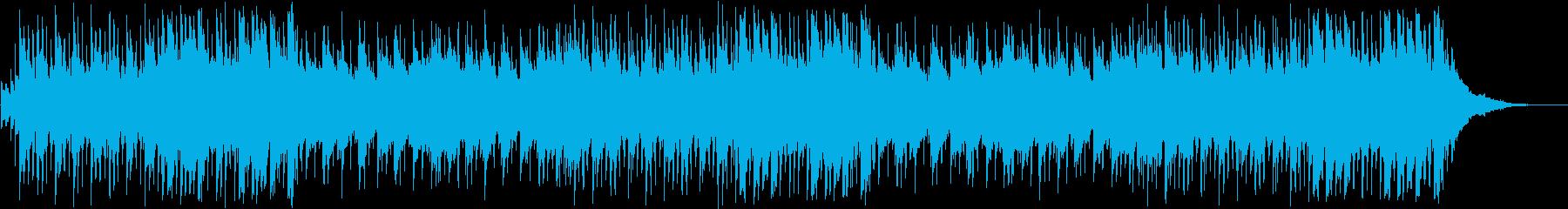 渋めで切ないメロウなファンクの再生済みの波形
