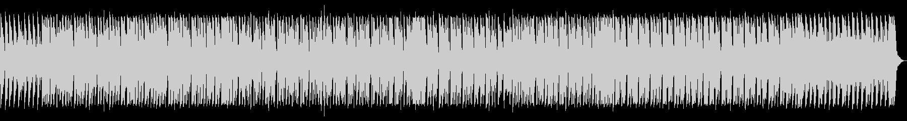 ベースがかっこいい80年代風サウンドの未再生の波形