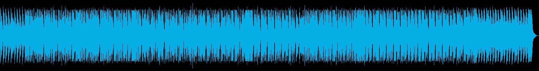 ベースがかっこいい80年代風サウンドの再生済みの波形