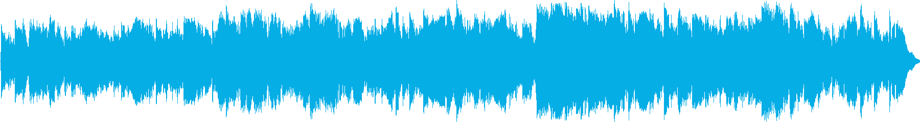 アコギとピアノの幻想的なBGMの再生済みの波形