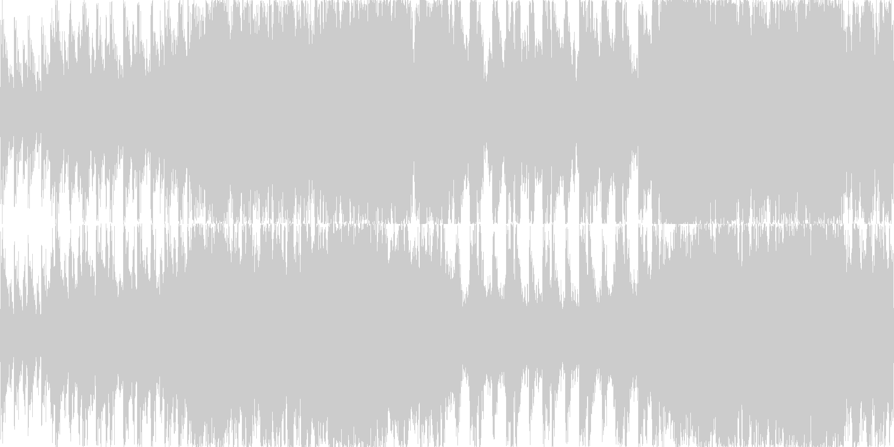 RPGなどフィールド音楽を想定して制作…の未再生の波形