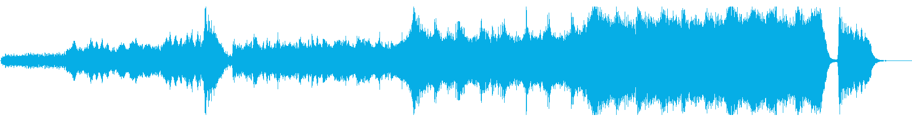 A hybrid exercise 1 where the excitement reaches its peak's reproduced waveform