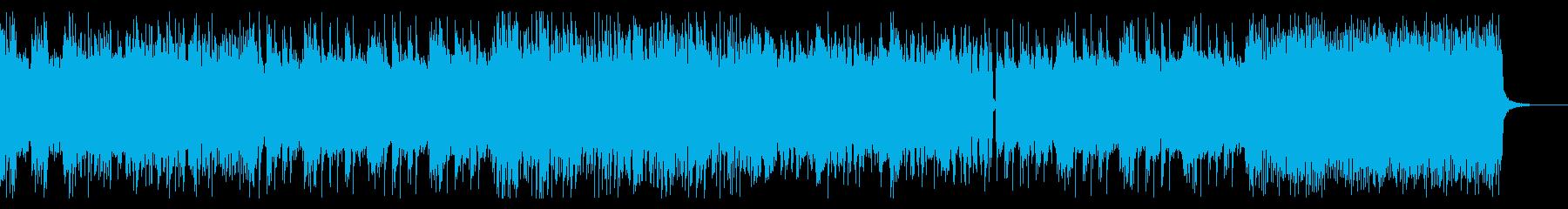 重厚なメタル、キャッチーなリフの再生済みの波形
