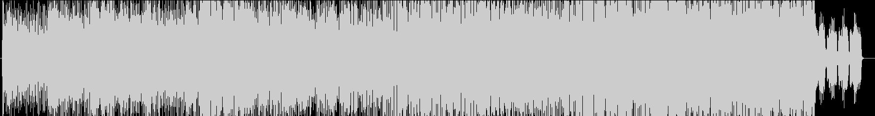 グラデーションの未再生の波形