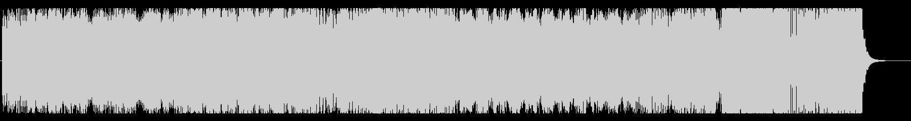 メタル調バチバチ戦闘BGMの未再生の波形