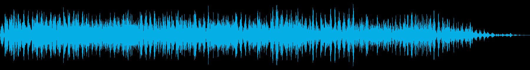 厳しいザップの再生済みの波形