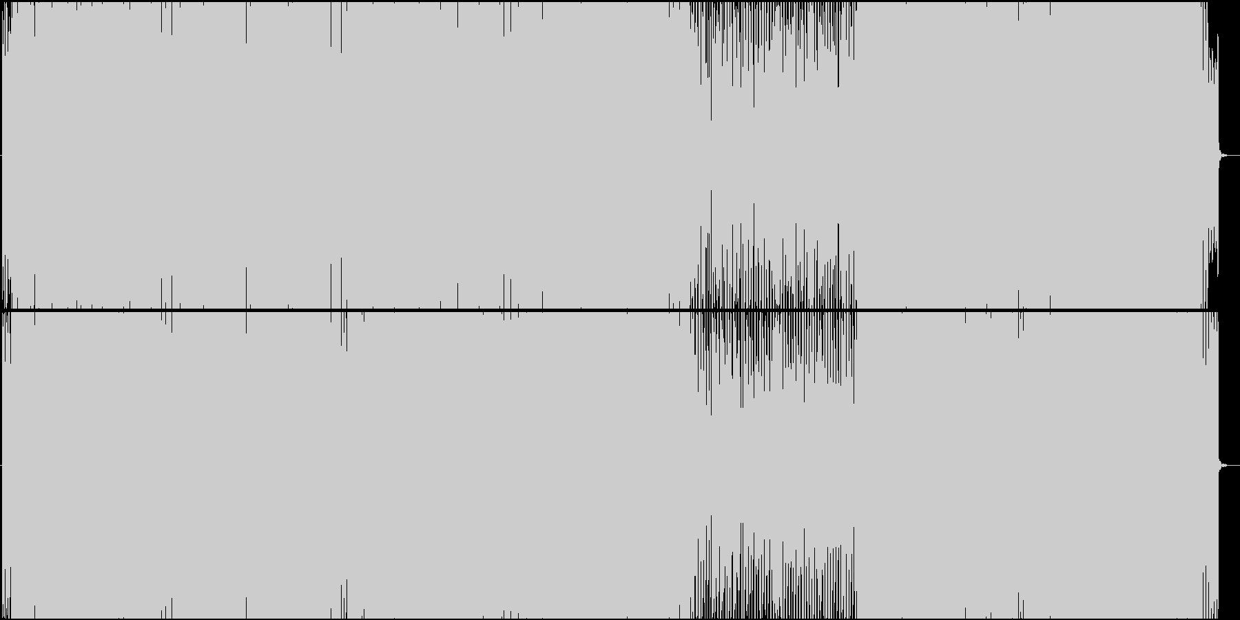 明るいEDM テクノ ポップ ver.2の未再生の波形