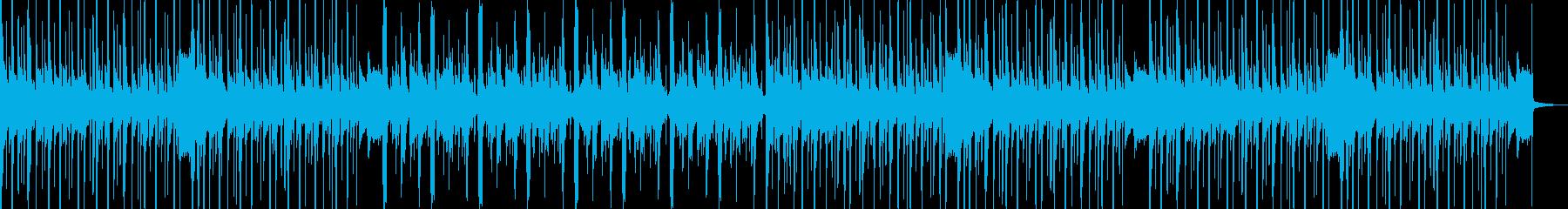 【CM】未来的なディープアブストラクトの再生済みの波形