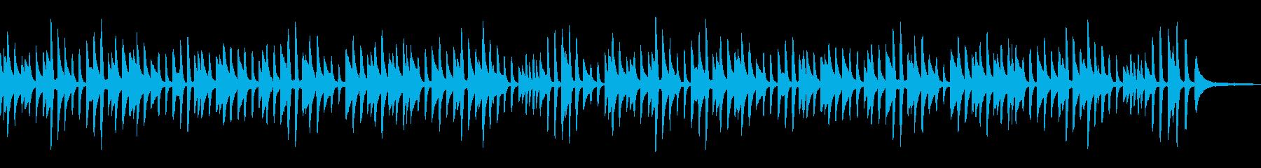 童謡「背比べ」シンプルなピアノソロの再生済みの波形